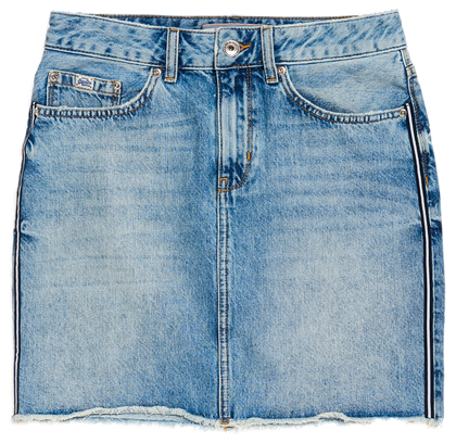 SUPERDRY NEDERDEL, G72022CR DENIM BLÅ