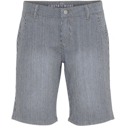 COSTAMANI SHORTS, CAPRI BLÅ STRIB
