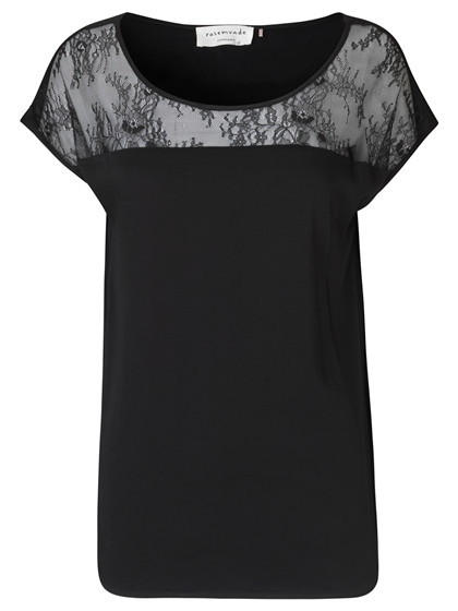 ROSEMUNDE T-SHIRT, 1518 BLACK