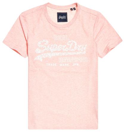 SUPERDRY T-SHIRT, W1010017A SOFT PINK
