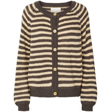LOLLYS LAUNDRY CARDIGAN, NOVA BLACK