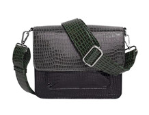 HVISK TASKE, CAYMAN POCKET MULTI DARK GREY
