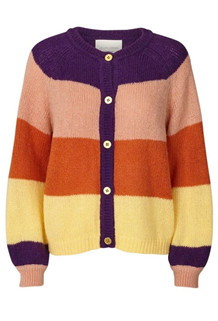 LOLLYS LAUNDRY CARDIGAN, NOVA PURPLE