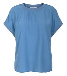 CO' COUTURE BLUSE, NEW NORMA DOVE BLUE