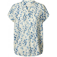 LOLLYS LAUNDRY TOP, HEATHER CREME