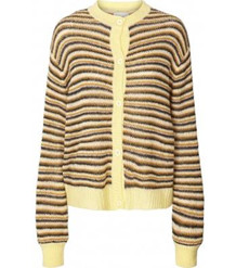 LOLLYS LAUNDRY CARDIGAN, NANNA LIGHT YELLOW