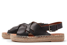 VIA VAI SANDAL, MONDI 5404060 BLACK