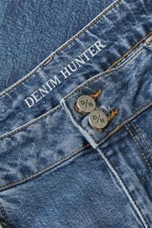 DENIM HUNTER JEANS, ELLY CURVED BLUE