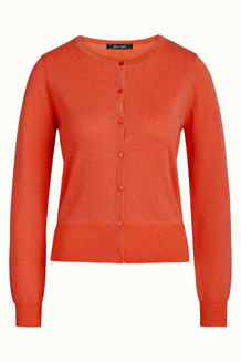 KING LOUIE CARDIGAN, CARDI ORANGE