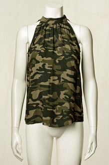 CO' COUTURE TOP, LOPEZ CAMOUFLAGE
