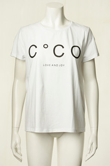 CO' COUTURE T-SHIRT, COCO SIGNATURE