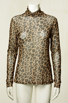 CO' COUTURE BLUSE, ANIMAL GLITTER