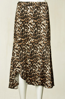 CO' COUTURE NEDERDEL, SATEEN LEOPARD
