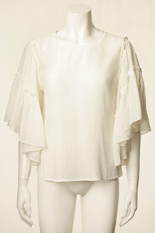CO' COUTURE BLUSE, CLARA OFF WHITE
