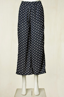 CO' COUTURE BUKS, DOT CROPPED NAVY