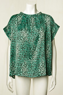 LOLLYS LAUNDRY TOP, DEVA LEOPARD