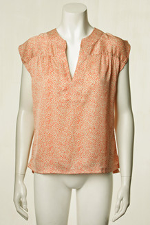 LOLLYS LAUNDRY TOP, PALOMA ORANGE