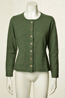 MANSTED CARDIGAN, MILENA COLD GREEN