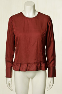 PLUS FINE BLUSE, IVET BORDEAUX