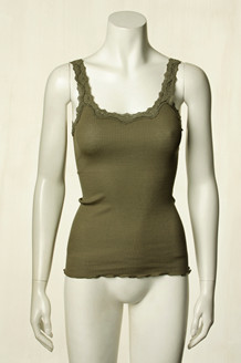 ROSEMUNDE TOP, 5357-552 OLIVEN SHADE