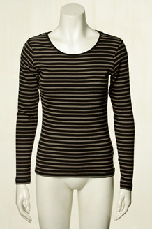 SIGNAL T-SHIRT, BI STRIPE SORT