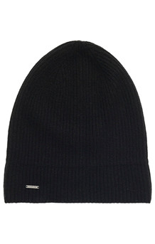 SUPERDRY HUE, CASHMERE BEANIE SORT