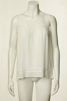 SOYA TOP, MAKIA OFF WHITE
