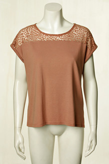 SOYA T-SHIRT, FELICITY  DUSTY ROSE