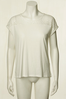 SOYA T-SHIRT, FELICITY  OFF WHITE