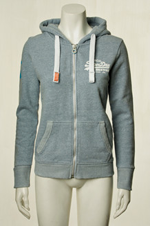 SUPERDRY SWEATSHIRT, G20028XP BLÅ
