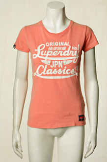 SUPERDRY T-SHIRT, G10006SO PINK