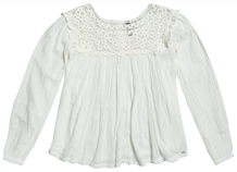 SUPERDRY BLUSE, W6010020A OYSTER