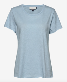 DENIM HUNTER T-SHIRT, LUZ LIGHT BLUE