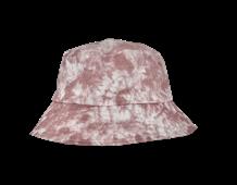 BLACK COLOUR HAT, DREW TIE DYE ROSE
