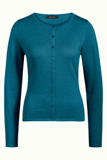 KING LOUIE CARDIGAN, 00139 TILE BLUE
