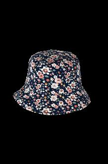 BLACK COLOUR HAT, SOYA FLOWER NAVY