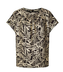 LOLLYS LAUNDRY TOP, DEVA SORT-GULD