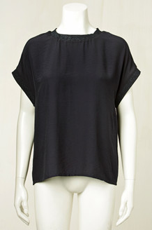 CO' COUTURE BLUSE, NEW NORMA NAVY