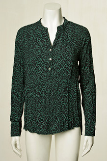 CO' COUTURE SKJORTE, COCO FOREST GREEN