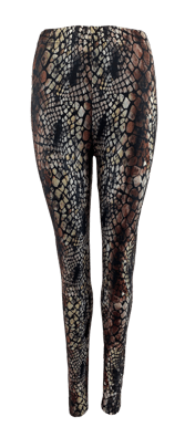 BLACK COLOUR LEGGINS, DRACO SNAKE