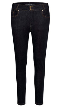 DENIM HUNTER JEANS, TENNA SLIM 7/8 CURVED