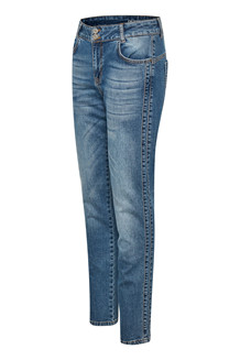DENIM HUNTER JEANS, ELLY CURVED BLUE