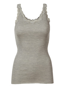 ROSEMUNDE TOP, 5357-008 LIGHT GREY