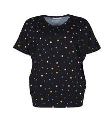 MANSTED T-SHIRT, GUO BLACK