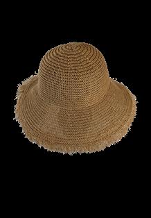 BLACK COLOUR HAT, ELLA BOHO CAMEL