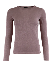 BLACK COLOUR T-SHIRT, FAYE MESH LAVENDEL