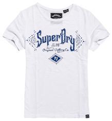 SUPERDRY T-SHIRT, G10107MT HVID