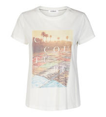 CO' COUTURE T-SHIRT, GOA OFF WHITE