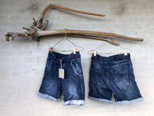 CABANA LIVING SHORTS, ABBY DENIM BLÅ