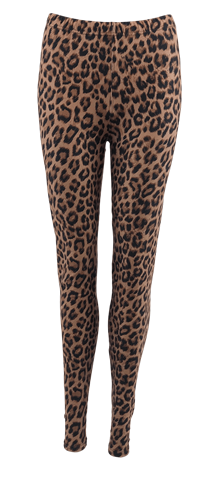 BLACK COLOUR LEGGINS, LYNN LEO BROWN